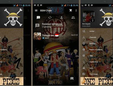 BBM Mod One Piece Apk
