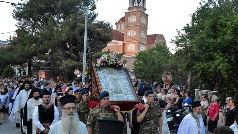 Με λαμπρότητα ο εορτασμός της Αγίας Κυριακής στην Αλεξανδρούπολη