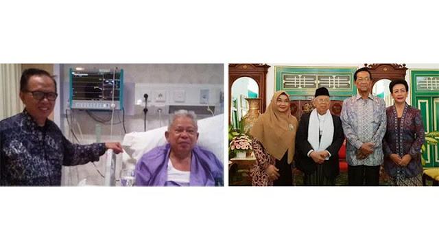 Viral Fotonya Sedang Terbaring Sakit, Ma'ruf Amin: Wah, Itu Ngaco!