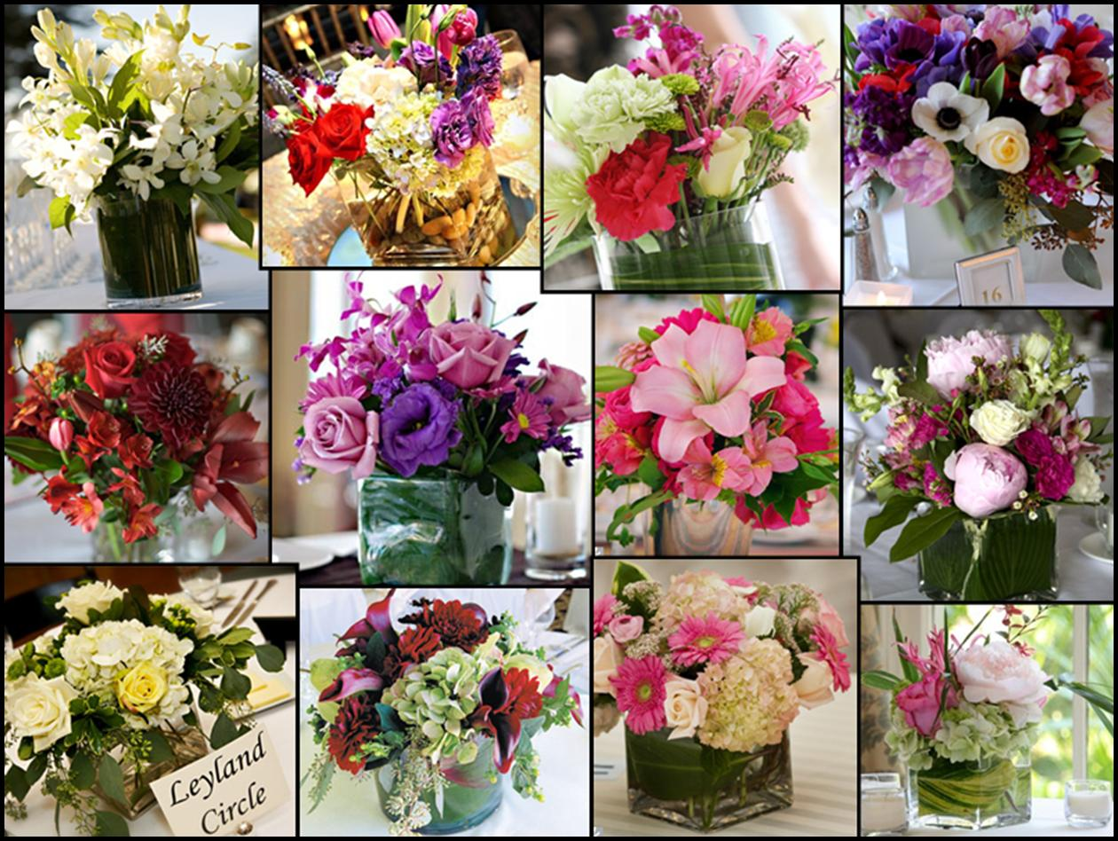 wedding flowers decoration wedding flower centerpieces Wedding Flowers Table Decorations Zee Post