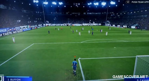 FIFA 19 Advanced Camera Angle