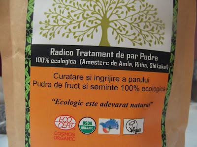 Radico Práškový šampón s kondicionérom popis