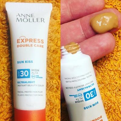 Express Double care, bb gen sensactive, anne moller, protector solar,