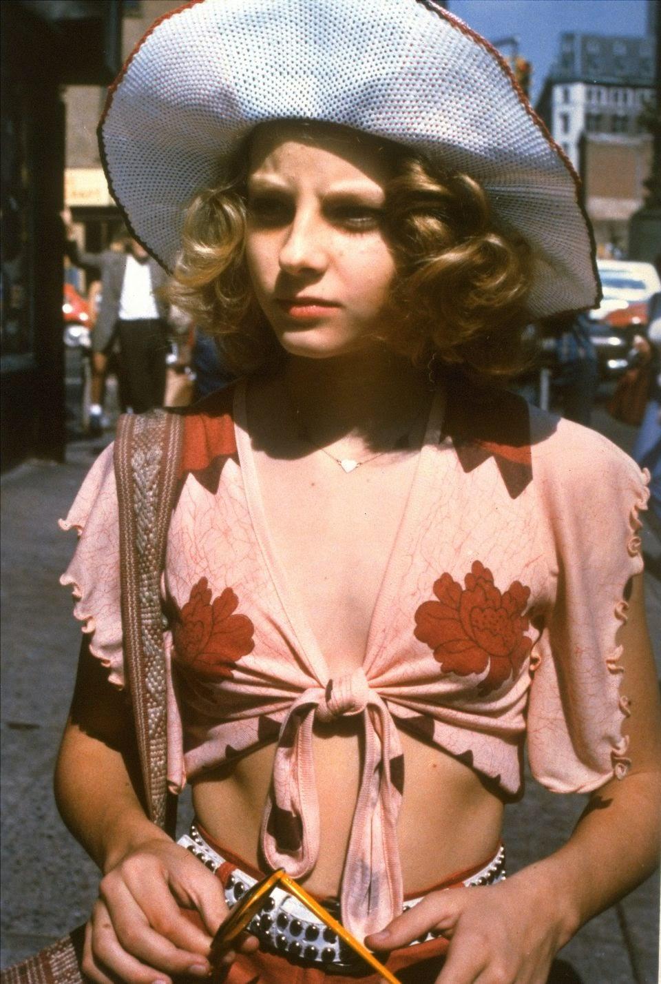 22 foto d'epoca di un giovane e bellissimo Jodie Foster On-3684