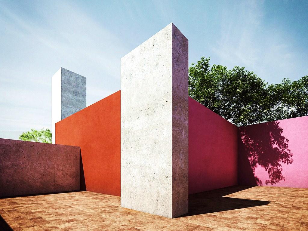 ARQUITECTURA CRITICA Hitos del Movimiento Moderno parte 10 CasaEstudio de Luis Barragn