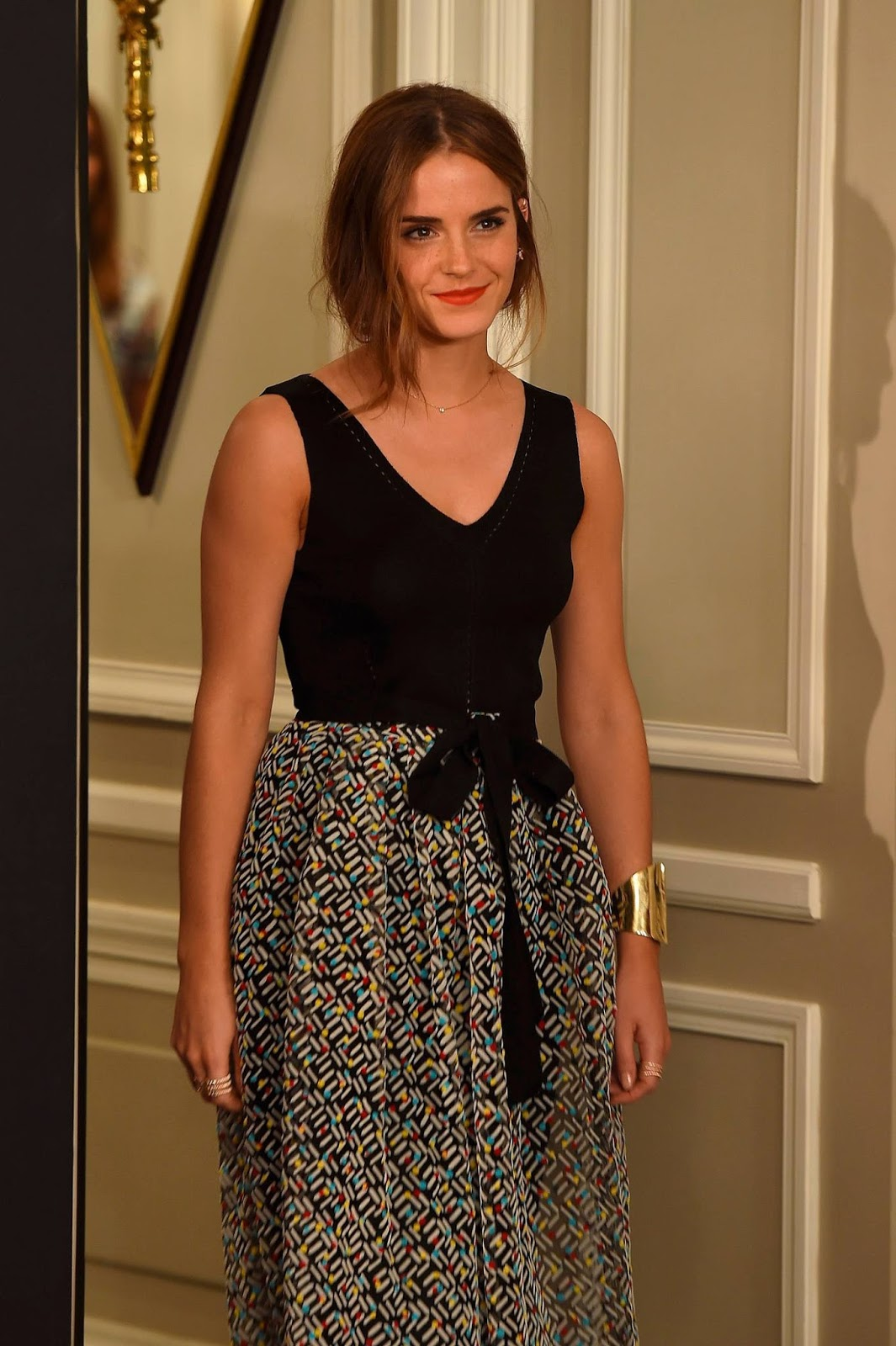 Emma Watson Looks Stunning at Regression Photocall