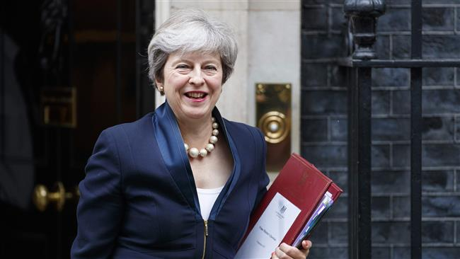 British Prime Minister Theresa May's landmark European Union withdrawal bill passes first parliamentary hurdle