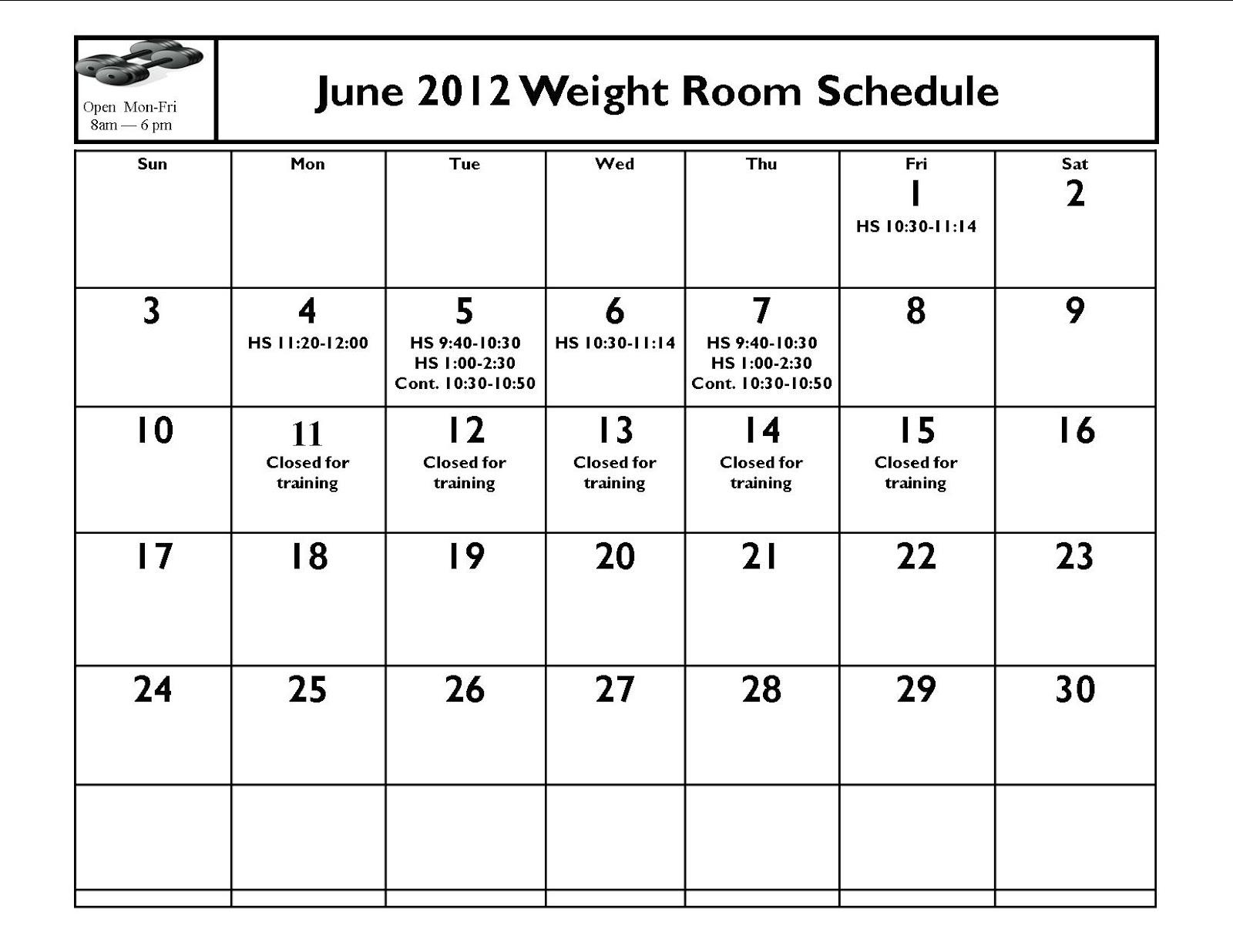 Honker Monthly Activities June Activities