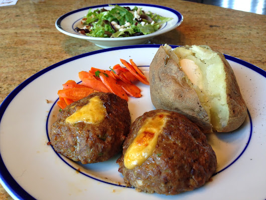 Cheese Stuffed MIni Meatloaves ~ Chef Julia