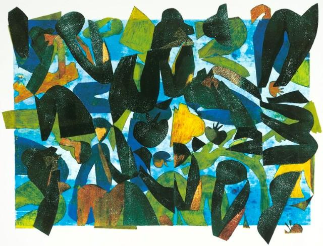 Коллажи и изобразительное искусство. Laurie Raskin 8