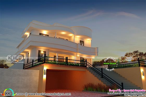 Awesome modern Kerala home design 2978 sq-ft