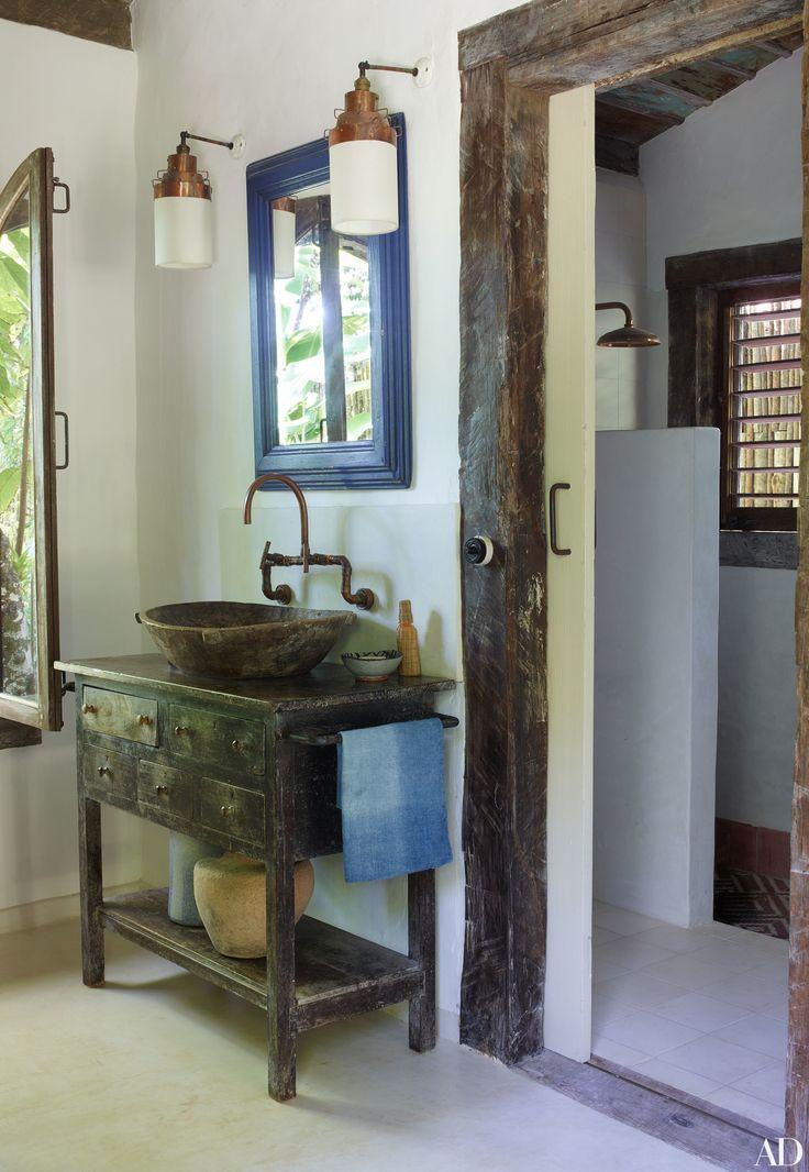 Rustic Luxe Decor Inspiration Anderson Cooper S Brazilian