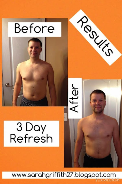 detox, 3 day refresh, 3 day refresh results, 3 day refresh meal plan, sarah griffith, top beachbody coach,