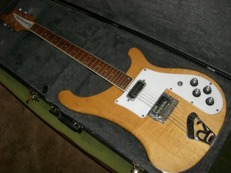 canadian vintage guitar hunt 1974 rickenbacker 480 electric guitar. Black Bedroom Furniture Sets. Home Design Ideas