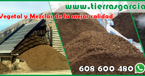 Tierra Vegetal Madrid