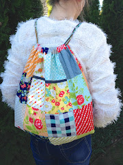 Charm Square Backpack PDF pattern