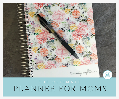 The Ultimate Mom Planner | planner | 2018 | organization | #planner #organizing