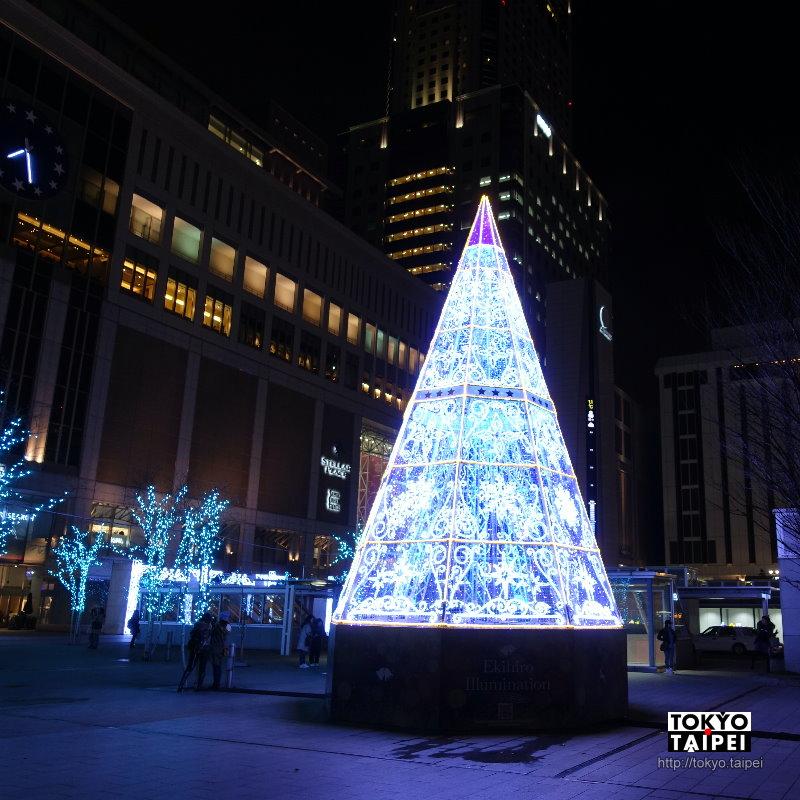 【Ekihiro Illumination】札幌駅外 意外遇見華麗聖誕樹
