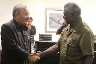 Diskusi Luar Biasa Antara Perdana Menteri Vanuatu dan PNG