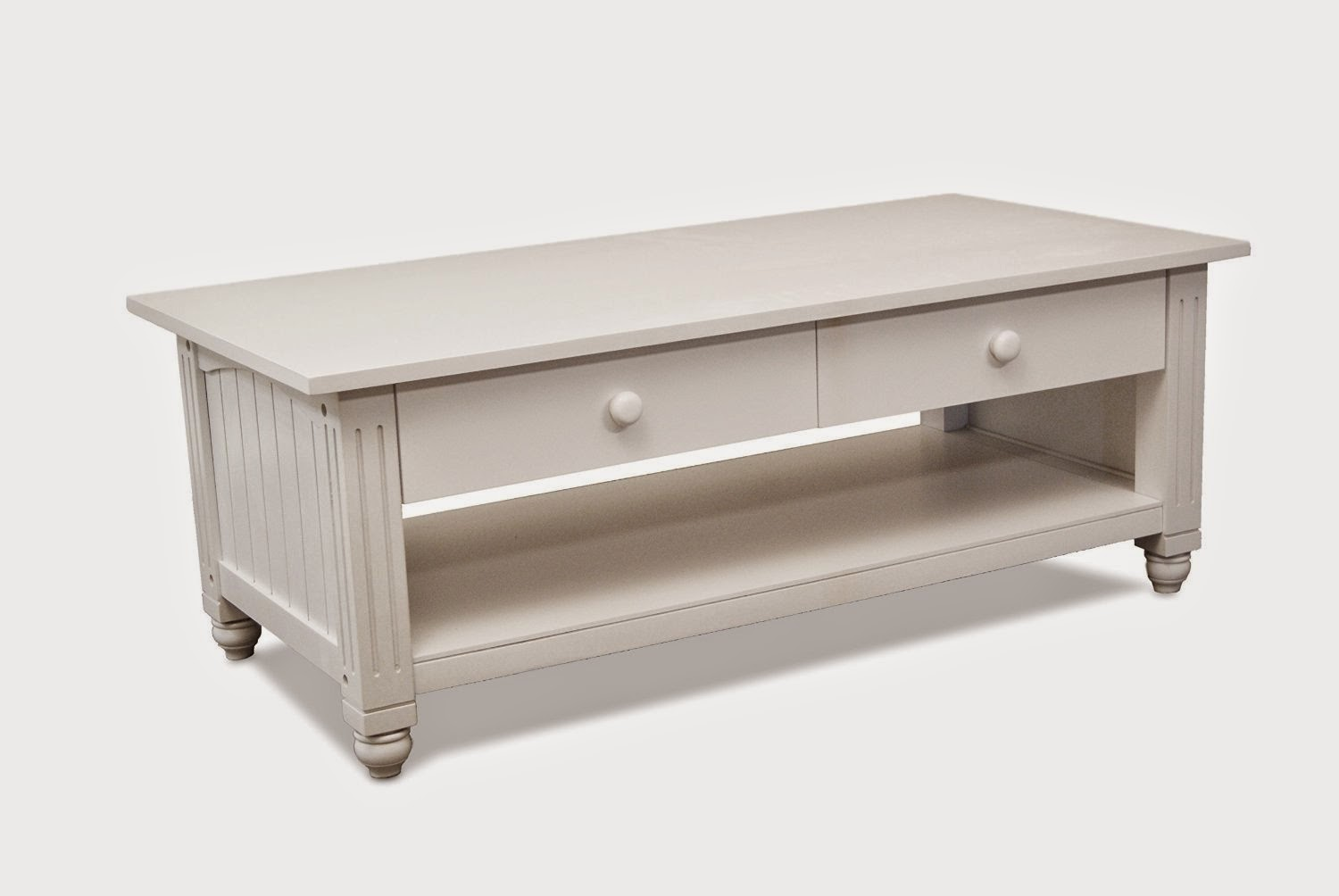 Lifestyle Solutions antique white coffee table
