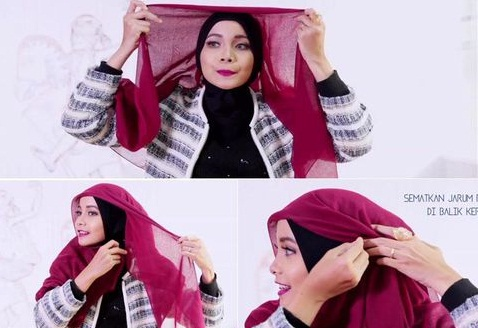 Tutorial Hijab Praktis untuk Ngampus