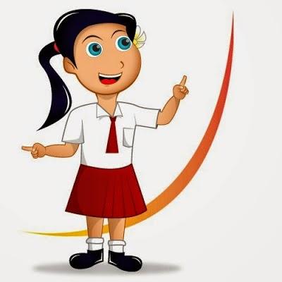 Gambar Anak Sekolah Kartun Sd Nusagates