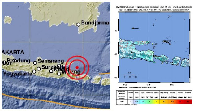 Jawa Timur Digoncang Gempa, Berikut Fakta Gempa 6,4 SR yang Melanda Situbondo Dini Hari Tadi