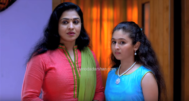 Bhramanam Serial cast  Vinduja and Niya