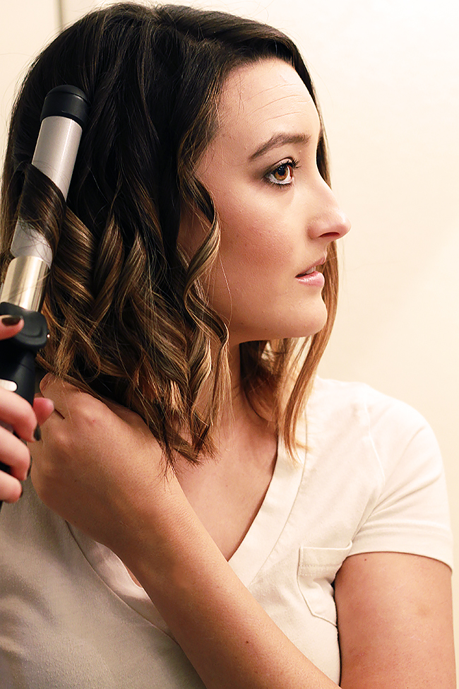 Beachy Fall Waves with the Sarah Potempa Beachwaver S1