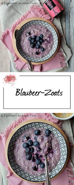Blaubeer-Zoats   Rezept   Frühstück   Essen   Porridge