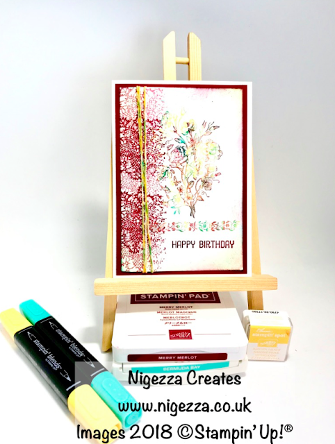 InspireINK Blog Hop Colour Challenge  Nigezza Creates