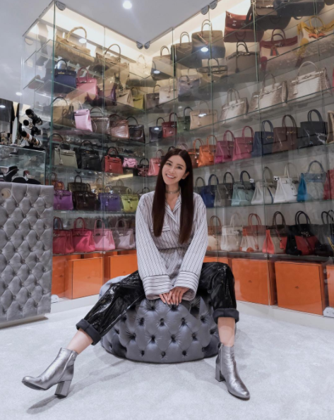 Meet the stunning woman with the world's biggest Hermes bag collection