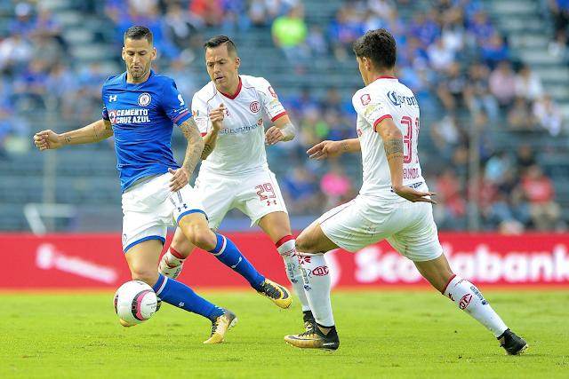 Cruz Azul repartió puntos con Toluca