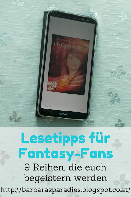 Lesetipps für Fantasy-Fans: 9 Reihen, die euch begeistern werden - Phoenicrus-Trilogie von Mirjam H. Hüberli