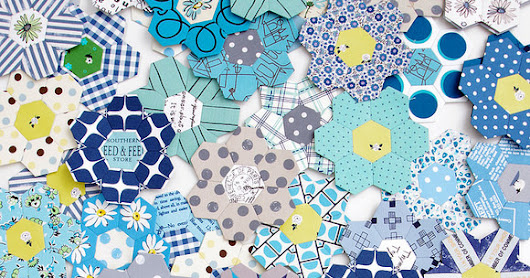 B is for Blues ~ A Hexagon Quilt | Part 1