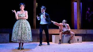 Diana, Carlos y Polilla en El desdén con el desdén