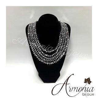 collana collier cristalli Swarovski