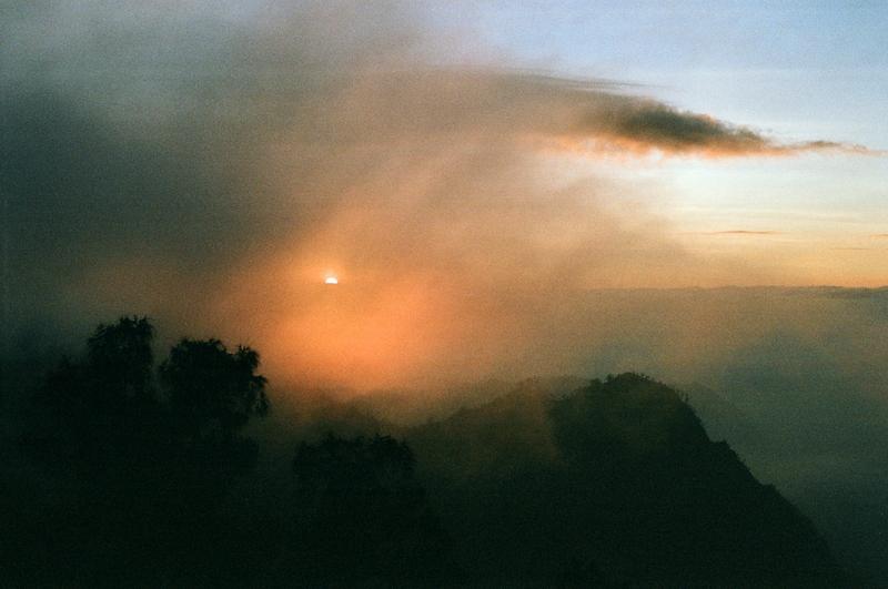 wulkan bromo wschód słońca
