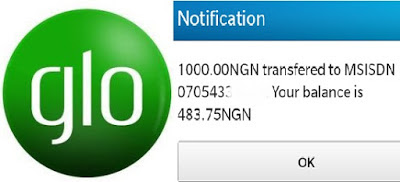 How to transfer Glo airtime from one line to another