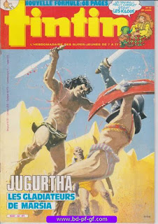 Tintin-numéro 43, année 38, 1983, Jugurtha