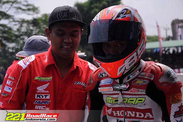 Kualifikasi Motorprix Subang 2016, Rider Kota Batik Unggul Tercepat Kelas MP4
