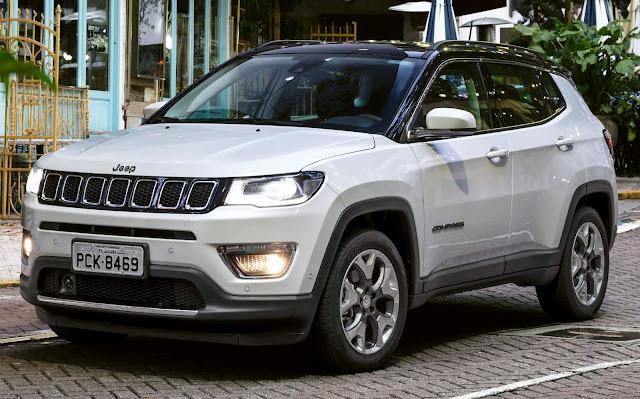 Jeep Compass - SUV mais vendido em maio