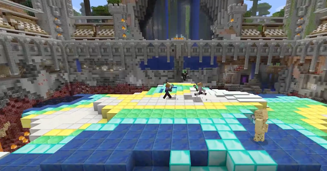 El minijuego Tumble llega al Minecraft de consolas