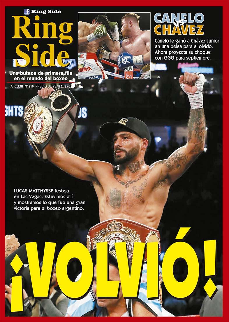 Apareci revista ring side n 210 lo que dej las vegas for Revista primicias ya hoy