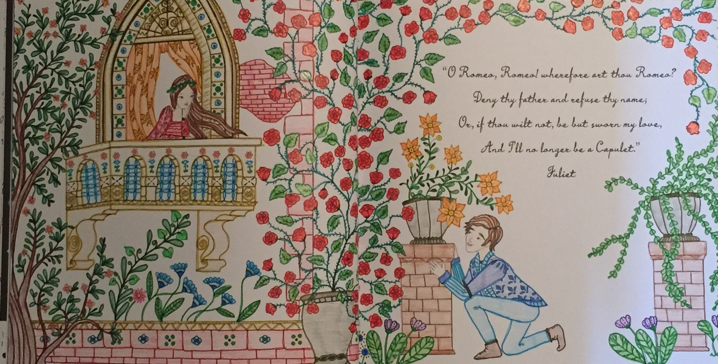 Romeo and Juliet: A Colouring Classic – A Review | Colouring In ... | 744x1466