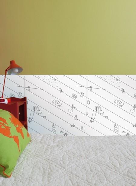 papier peint à colorier