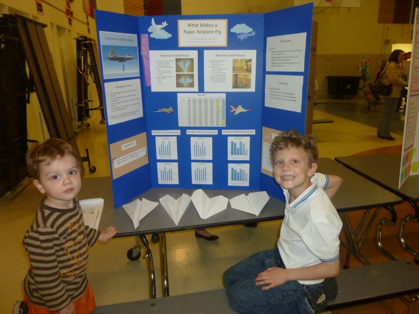 The Robins Family Dax S Science Fair Project
