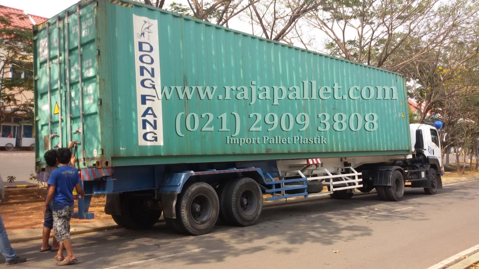 Distributor Pallet Plastik Import Murah Terpercaya