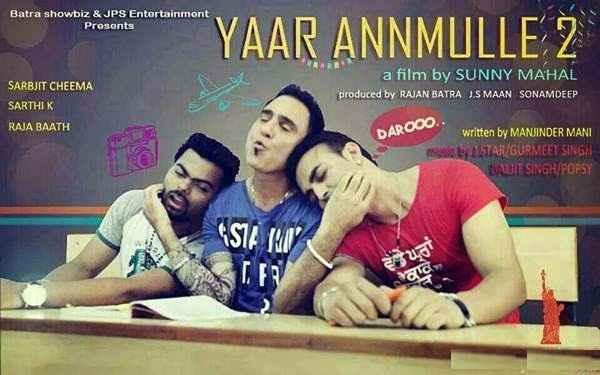 Yaar Annmulle 2 (2017) Punjabi WebRip XviD 500MB