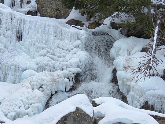 Wielki Wodospad (słow. Veľký vodopád).